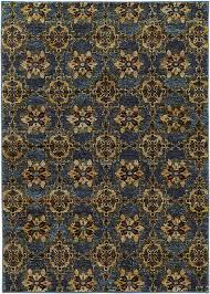 Sphinx Area Rug Sphinx Oriental Weavers Area Rugs Andorra Rugs 6883c Casual Blue