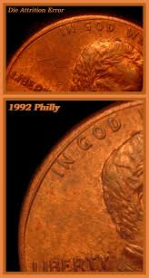 1995 penny collar or rim error coin community forum