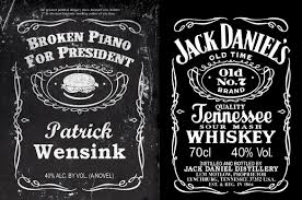 100 jack daniels label template drinking the bottom shelf