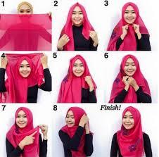 tutorial hijab pashmina untuk anak sekolah hijab simple anak kuliah hijab style 6
