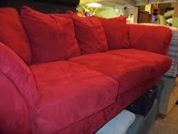 Microfiber Sleeper Sofa Red Sleeper Sofa Book Of Stefanie