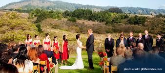 affordable wedding venues bay area costanoa weddings eco green weddings in the bay area pescadero