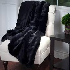 Faux Fur Throw Grey Lavish Home Grey Luxury Long Haired Faux Fur Throw 61 74 G The
