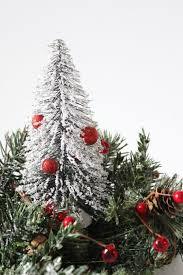 diy mini christmas tree centerpiece