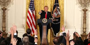 trump uses press conference to try to rectify white house in