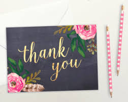 where to buy thank you cards thank you cards etsy