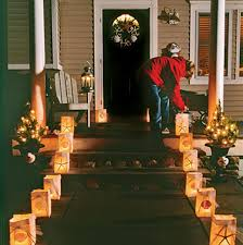 Christmas Decoration For Front Of House by Christmas Porch Decorations Christmas Celebrations
