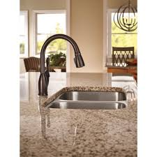 Delta Kitchen Faucets Bronze Sink U0026 Faucet Delta Faucet Ar Dst Cassidy Single Handle Pull