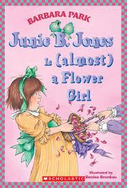 junie b jones is almost a flower by barbara park scholastic