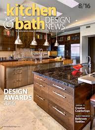 kitchen bath design news august 2016 kitchen bath design