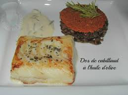 la cuisine de norbert dos de cabillaud à l huile d olive de norbert tarayre le palais