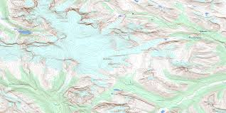 Map Of Columbia Columbia Icefield Ab Maps Online Free Topographic Map Sheet