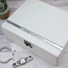 personalised jewelry box personalised jewellery trinket boxes gettingpersonal co uk
