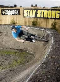marco u0027s backyard bmx pump track staffordshire