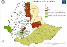 Map Of Ethiopia Map Eu Priority Areas Ethiopia Bufferthehorn