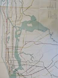 Manhattan Map Subway by This 1927 City Subway Map Shows Early Transit Plans 6sqft