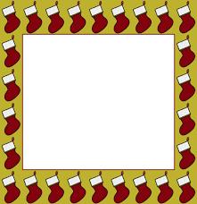 free christmas clipart borders digital frames u0026 borders u0026 die