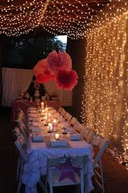 Backyard Birthday Party Ideas For Adults by 19 Best Sweet 16 Birthday Images On Pinterest Parties Backyard