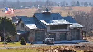 custom home garage case studies metal roofing systems fabral architectural