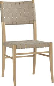 dining room natural finish crate and barrel dining chairs with