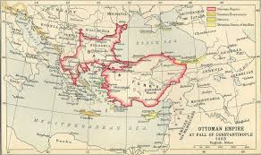 Ottoman Syria by Ottoman Empire At Fall Of Constantinople 1453