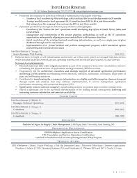 Vmware Resume It Resume Samples Infotechresume