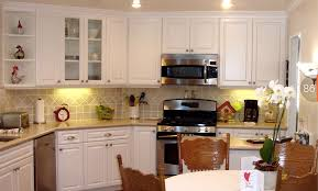 kitchen refacing kitchen cabinet white also there is a toaster