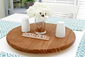 small lazy susan for kitchen table diy lazy susan centsable momma pertaining to diy ideas 11