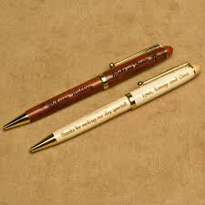 personalize wedding gifts wood pens personalized wedding gifts personalized wedding