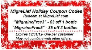 holiday coupon migrelief holiday newsletter u0026 coupon codes