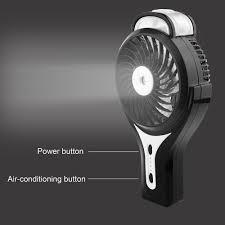 handheld misting fan misting fan mini usb handheld humidifier mist water spray air