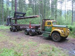 gary durr here is another angle of the 57 white log truck and the