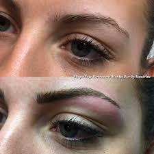 tatouage sourcils poil par poil maquillage permanent des sourcils à montpellier institut de beauté