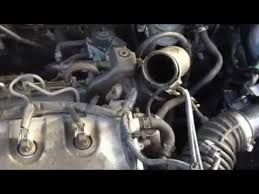nissan xtrail 2 2 dci running with intercooler removed