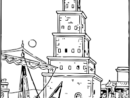 download lighthouse colouring pages ziho coloring