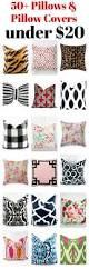 Affordable Furniture Source by 50 Pillow Covers And Pillows Under 20