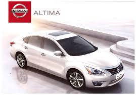 Nissan Altima 2014 - 2014 nissan altima brochure