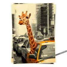 online shop new york safari humor posters retro poster vintage