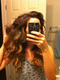 diy highlights for dark brown hair diy balayage using revlon frost and glow for medium to dark brown