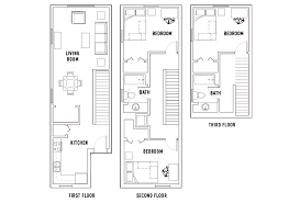 3bed 2bath Floor Plans Floor Plans Park Point Rochester Student Housing Rochester Ny