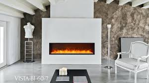 slim electric fireplace slim indoor or outdoor built in only electric fireplace with a black steel