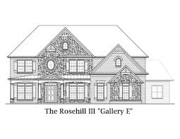 Kimball Hill Homes Floor Plans by Rosehill Iii Sharp Residential
