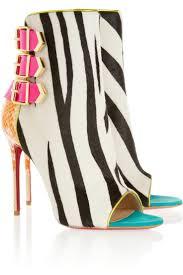 best 25 zebra shoes ideas on pinterest gold heels christian