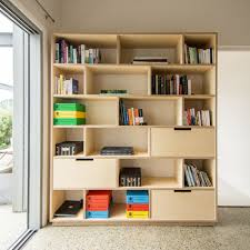 Bedroom Furniture New Zealand Made Combination Of Bookshelf And Office Storage Made From Birch