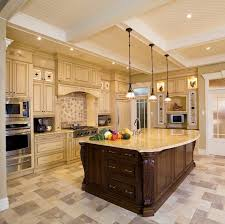 kitchen awesome kitchen design with interesting lighting and big