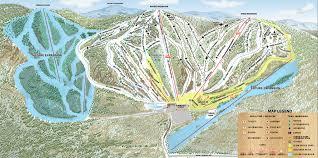 Big Sky Montana Trail Map by Ragged Mountain Resort Premier New England Skiing