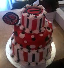 georgia bulldog birthday cake party ideas pinterest