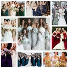 winter bridesmaid dress color ideas unique wedding ideas inked