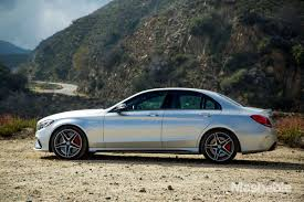 luxury mercedes sedan the 2016 mercedes amg c63 s sedan can kinda drive itself review