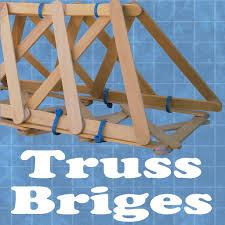 cable tie truss bridges with pictures